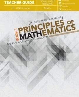 Principles of Mathematics 1 Teacher