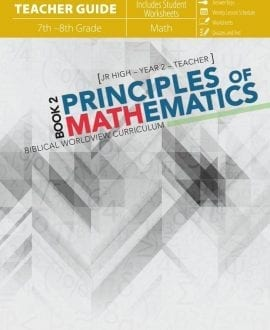 Principles of Mathematics 2 Teacher