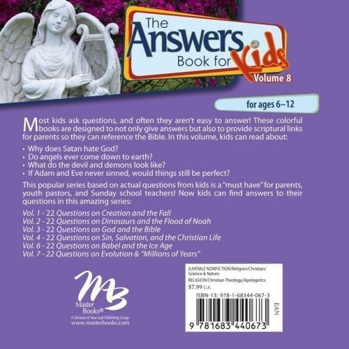 Answers Book for Kids, Vol. 8 back