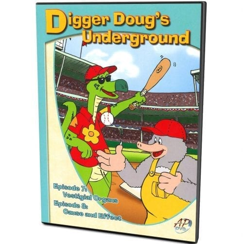Digger Doug's Underground: Ep. 7 & 8 Vestigial Organs & Cause & Effect DVD