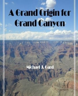 A Grand Origin For Grand Canyon