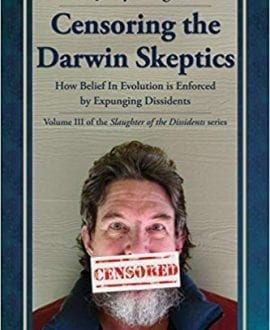 Censoring The Darwin Skeptics Book