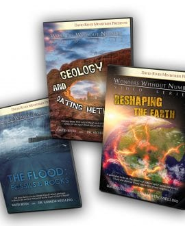Geology & The Flood Trilogy DVD Series