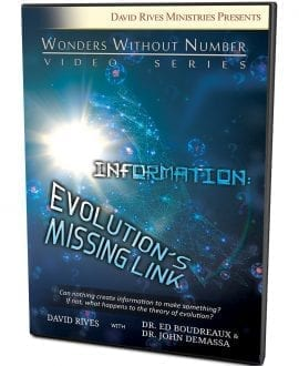 Information: Evolution's Missing Link DVD