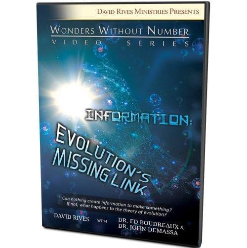 Information: Evolution's Missing Link DVD