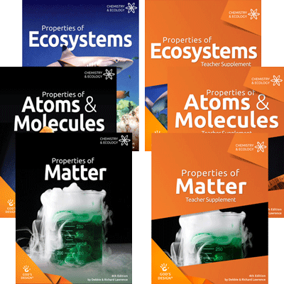 God's Design for Chemistry and Ecology Complete Book Set