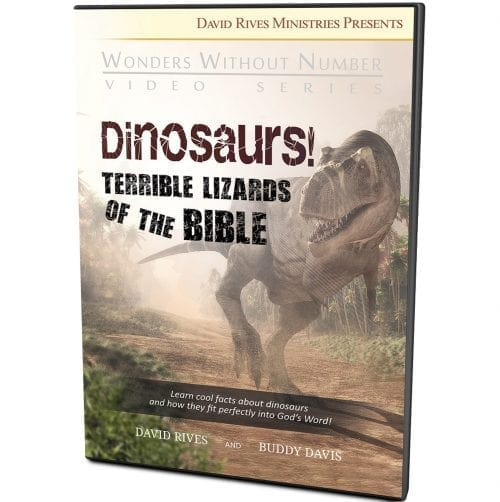 Dinosaurs! Terrible Lizards of the Bible DVD