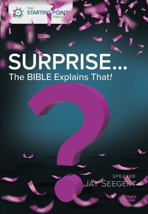 Surprise: The Bible Explains That DVD