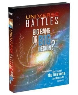 Universe Battles: Big Bang or Big Design DVD