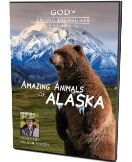 God's Living Treasures | Amazing Animals of Alaska Volume 2 DVD