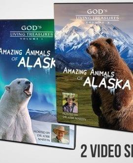 Amazing Animals of Alaska DVD Vols. 1 & 2