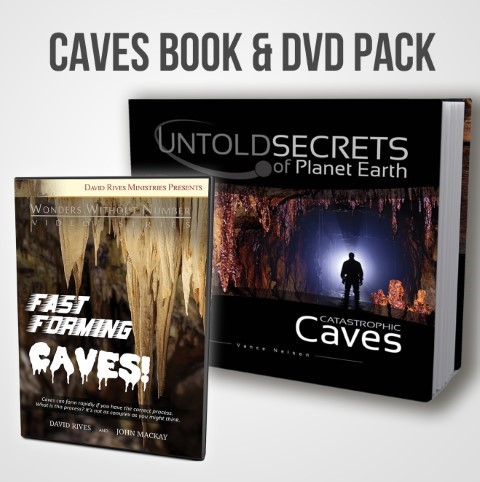 Exploring Cave Formation Book & DVD Bundle