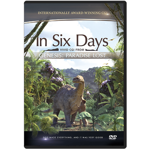 In Six Days - Vivid CGI from Genesis: Paradise Lost DVD
