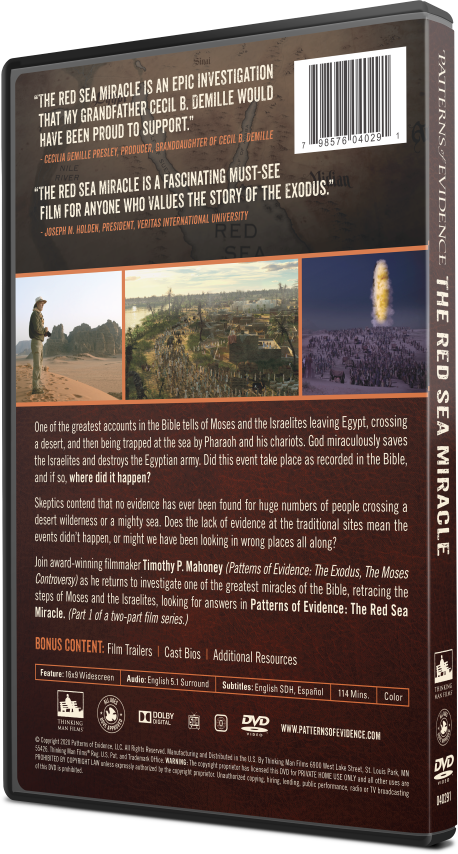 The Red Sea Miracle DVD 1
