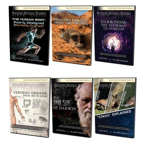 "The Dr. Jerry Bergman ""Wonders"" Video Bundle"