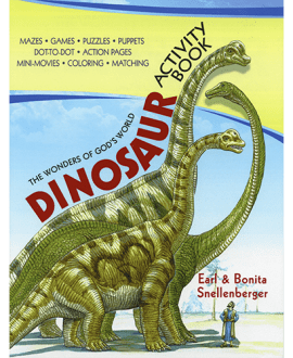 The Wonders of God's World Dinosaur Activity Book