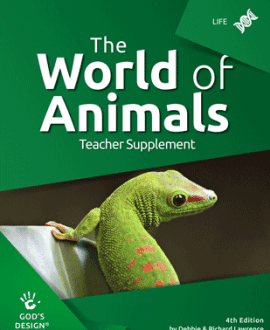 The World of Animlas - God's Design Teacher Supplement | AIG