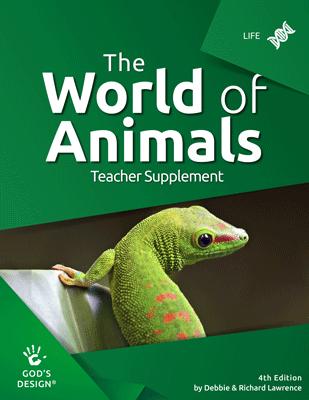 The World of Animlas - God's Design Teacher Supplement | AIG