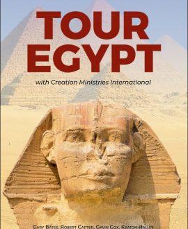 Tour Egypt - with Creation Ministries International   CMI