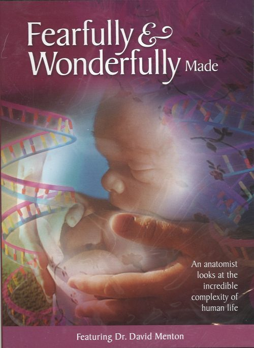 Fearfully & Wonderfully Made Ft: Dr. David Menton - DVD   AIG