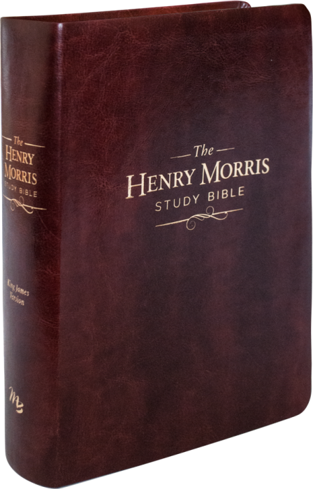 The Henry Morris Study Bible - Brown Imitation Leather Bound   MB